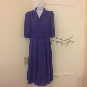Beautiful purple vintage dress