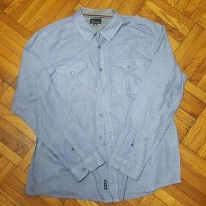 Burnside Other - Blue Burnside 2XL Men's Button Down Shirt