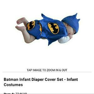 Batman Other - Batman infant Diaper Cover Set 0-3 month