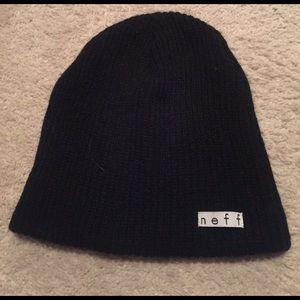 Neff Accessories - Black Neff beanie