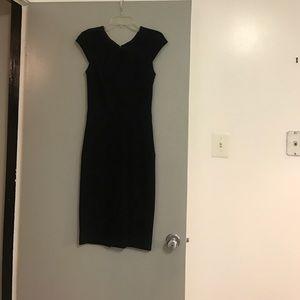 Cache Dresses & Skirts - Size 2 black Midi dress 🌹🌹🌹