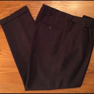 Haggar Other - Men's Haggar Dress Pants Brown sz 36x30