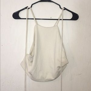 Tops - Off white crop too