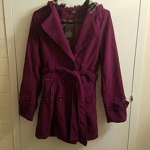 Jackets & Blazers - Beautiful purple coat!