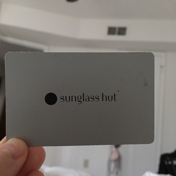 Sunglasses Hut Other Gift Card W Gift Receiptproof Poshmark