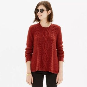 Madewell Sweaters - Madewell Firelight Cable Sweater Pullover