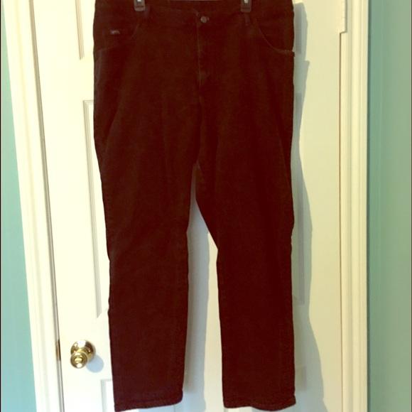 Riders Denim - Riders Black Jeans 20W Plus Size