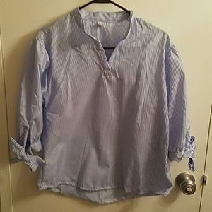 Tops - Blue tunic like shirt