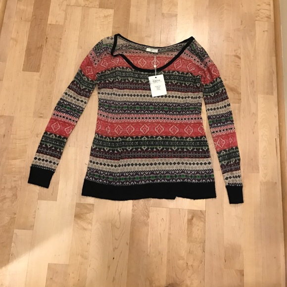 92% off Joie Sweaters - Joie Fair Isle sweater NWT from ! kelly's ...