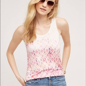 Anthropologie Tops - Anthropologie Patterned Tank