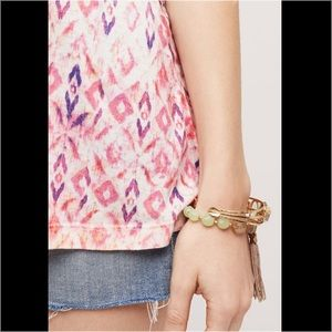 Anthropologie Tops - Final $ Anthropologie Patterned Tank