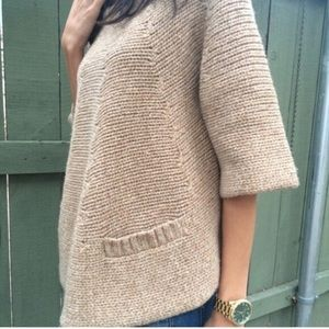 Manoush Chunky knit Sweater w/ buttons down back