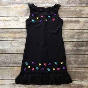 Biscotti Other - Biscotti Black Jeweled Dress