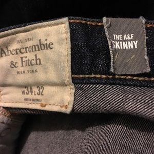 Abercrombie & Fitch Jeans - AF Skinny Jean Blue NWT 34/32 Men's