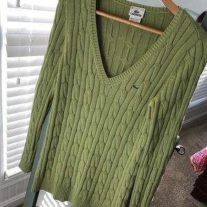 Lacoste sweater!