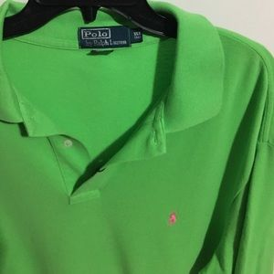 Other - Lime green Polo by Ralph Lauren shirt