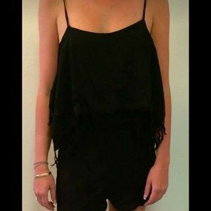 Indah Pants - Indah Kerala Romper - Black - New