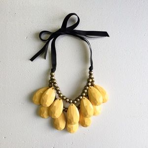 Yellow Statement Necklace!
