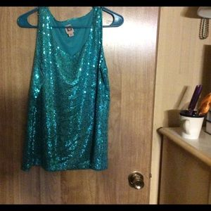 Anne Klein Tops - Very sparkly tank