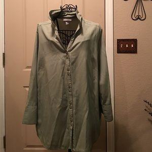 Dress Barn Tops - Dress Barn button up blouse size 18/20
