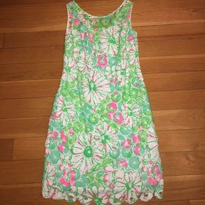 """Lilly Pulitzer Dresses & Skirts - Lilly Pulitzer """"Shiloh"""" Fluorescent Dress 💐"""