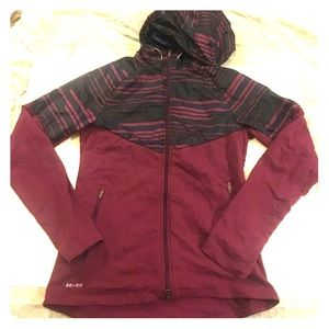 Nike Jackets & Blazers - Nike Fleece Lined Windbreaker Hoodie