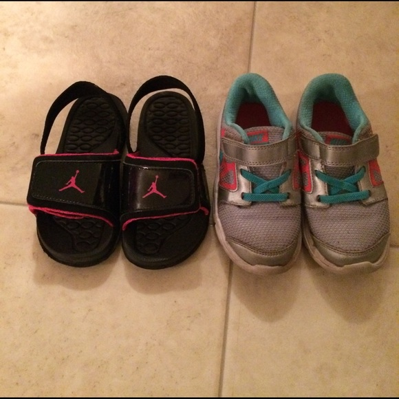 5267233dc7e731 Jordan Other -  9 girls size 9c Nike Jordan shoe lot