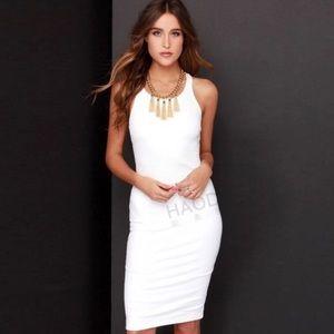 Dorimas Closet Dresses & Skirts - 🆕Sexy white bodycon dress ❤💋