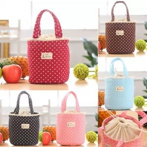 Handbags - Dotted Insulated Totes