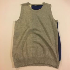Derek Lam Sweaters - Derek Lam Sleeveless Sweater Vest