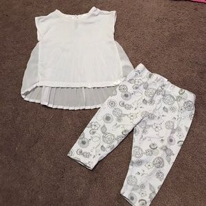 Kardashian Kids Other - Kardashian Kollection outfit / shirt & leggings
