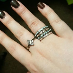 Charming Charlie Jewelry - Stackable rings