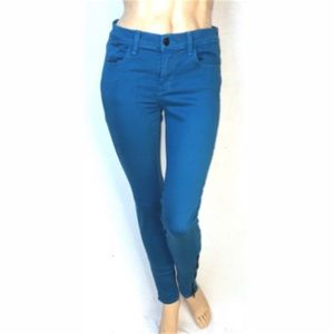 J brand jeans 620 mid rise skinny ankle zip