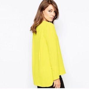 🆕chic yellow blouse ❤💋