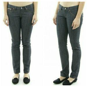 Wesc Denim - {Wesc} Dark Wash Skinny Selvage Jeans