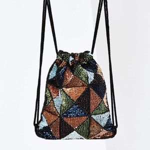 Urban Outfitters Handbags - Sequin Gatsby Hobo Pouch Backpack Mini-tote Purse