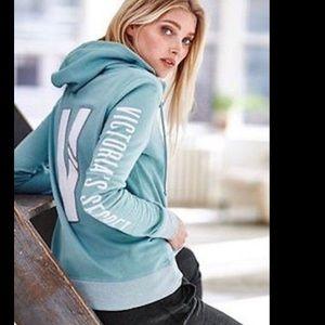 Victoria's Secret Sweaters - NWT Victoria's Secret zip up hoodie soft sweater
