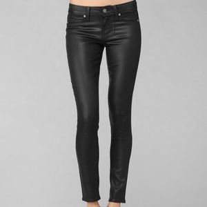 Paige Jeans Denim - Paige Hoxton ankle silk coated jeans, worn 3 times