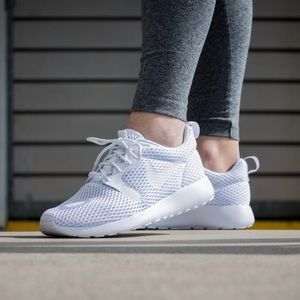 Nike Shoes - Nike Roshe One Triple White Sneakers