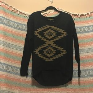 Cecico Sweaters - Knit Patterned Sweater