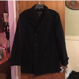 Black Brown 1826 Other - OBO Black • Brown 1826 Lord & Taylor pea coat sz M
