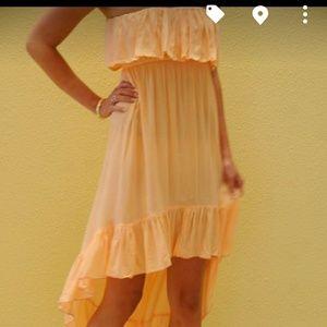 Tiare Hawaii Dresses & Skirts - Tiare Hawaii High Low Ruffle Cover up