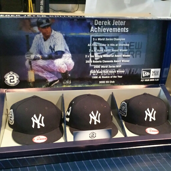 a2810d59 New Era Accessories   Derek Jeter 3 Hat Box Set   Poshmark