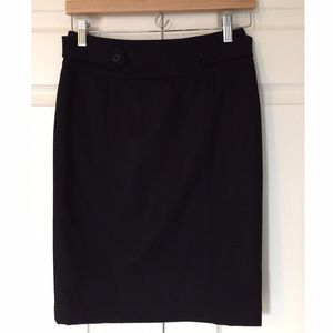 Final Price Burberry Wool Cashmere Pencil Skirt