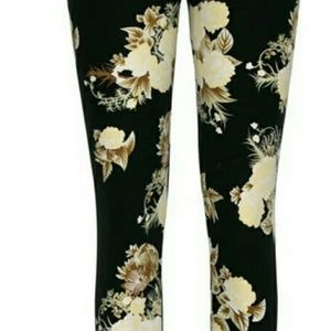 ❌❌ Final Price , Leggings,, OS, adult,  floral