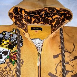 """Vintage Other - RARE MEN'S """"Ruthless"""" Hoodie"""