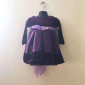 Dollie & Me Other - Dollie & Me Purple Toddler Dress
