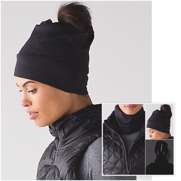 ea703989 lululemon athletica Accessories | New Lululemon Top Knot Toque Hat ...