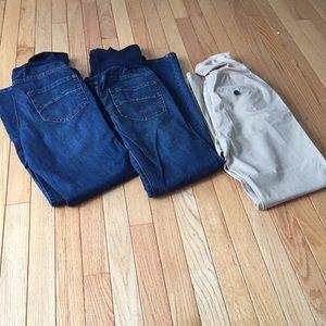 Liz Lange for Target Pants - Maternity jeans pants bundle sz 6