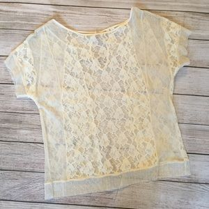 Frenchi Tops - Frenchi Lace Top